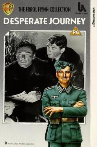 Random Movie Pick - Desperate Journey 1942 Poster
