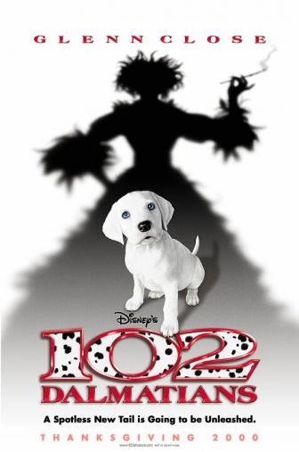 Random Movie Pick - 102 Dalmatians 2000 Poster