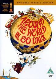 Random Movie Pick - Around the World in Eighty Days 1956 Poster