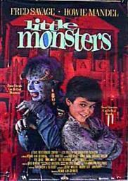 Random Movie Pick - Little Monsters 1989 Poster